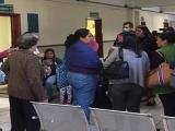 No respetan sana distancia en Clínica 66 de Xalapa