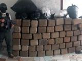 Decomisa SSP una tonelada de droga y captura a presunto integrante de grupo delictivo, en José Azueta