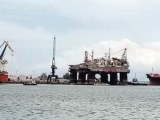Astillero de Veracruz da mantenimiento a plataforma IOLAIR