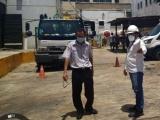 PMA atiende diligencia por acumulación de basura en hospital de Coatzacoalcos