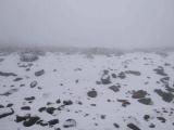 Por aguanieve en Cofre de Perote se limita el acceso a la montaña