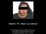 """Capturan a """"La Catrina"""", presunta líder del CJNG en Las Choapas"""