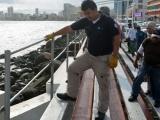 Supervisa P.C municipal andamiaje de gradas para el Carnaval de Veracruz