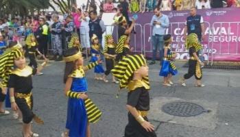 Música y alegría en el carnaval infantil de Veracruz