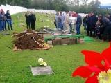El adiós en un pais que huele a muerte