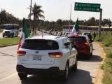 En la zona conurbada, efectúan cuarta caravana anti-AMLO