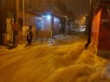 Fuertes inundaciones en Atoyac