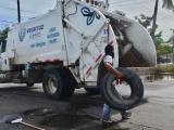 30 toneladas de basura dejaron las lluvias
