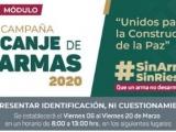 Del 06 al 20 de marzo, SEDENA y SSP canjearán armas en Xalapa, Veracruz y Coatzacoalcos