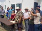 Realizan primera entrega de viviendas a pescadores de Veracruz