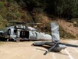Cae helicóptero de SEMAR en Tehuipango