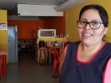 Durante contingencia, ofrece  propietaria de cocina económica comida gratuita