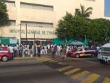 "Protestan médicos del IMSS ""Benito Coquet""  por falta de insumos para atender a pacientes"