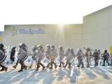 Fuerzas del orden listas ante posibles saqueos a centros comerciales