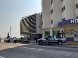 En Boca del Río, cierran Boulevard Vicente Fox e implementan filtros sanitarios