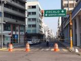 No quieren más aglomeraciones, centro de Veracruz cerrado a la vialidad