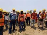 En el nuevo puerto,  2 mil obreros expuestos ante posible brote de Covid