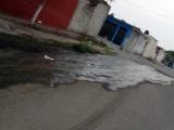 Aguas negras genera problemas a la salud a vecinos de Costa Dorada