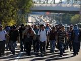 Aseguran a 221 migrantes en Veracruz