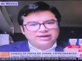 Perseguir criminales no debe consultarse: Carlos Valenzuela