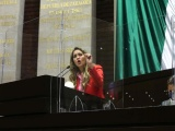 La política social no puede sintetizarse a entrega de dinero público: Anilú Ingram
