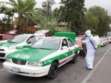 En Xalapa, realizan desinfección de más de tres mil unidades de transporte público