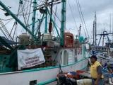 Pescadores de Alvarado siguen de brazos cruzados, demandan reducción en tarifas de combustible