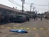 Camión de pasaje arrolla y mata a peatón en zona de Mercados