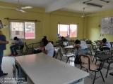 Regresan a las aulas alumnos de la telesecundaria Alfonso Reyes