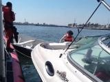 Personal de la Armada de México rescata a cuatro personas en inmediaciones de Antón Lizardo
