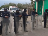 Recupera SSP, de manera violenta, predio de zona protegida de Arroyo Moreno