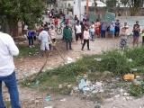 Despiden familiares a joven muerto en el desalojo en Boca del Río