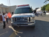 Adquieren ambulancia para emergencias médicas en Jamapa