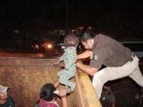 Rescata INM a personas migrantes en operativos a trenes de carga
