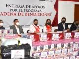 El comité de damas de la CMIC dona en especie a sectores vulnerables de Veracruz