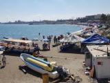 50% del comercio informal en Villa del Mar no utiliza  cubrebocas mientras trabaja