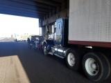 Protestan transportistas de AMOTAC en Veracruz