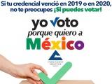 """La Canaco se suma a la campaña nacional """"Yo Voto porque Quiero a México"""""""