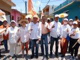 Ex dirigentes de PRI y PRD se suman a la campaña de Alejandro Caballero en Alvarado
