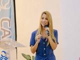 Paty Lobeira de Yunes, invitada por la CANACO, participa en la conferencia sobre el empoderamiento de la mujer