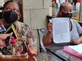 Alumnos de la escuela INOCO toman clases en el patio del plantel, autoridades no respetan medidas sanitarias