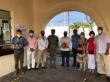 En su primer día de reapertura, 230 visitantes recorrieron el fuerte de San Juan de Ulúa