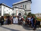 Pescadores protestan contra APIVER, reclaman zona para trabajar