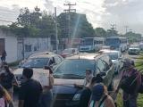 Diez horas duró el bloqueo de la carretera Veracruz-Xalapa