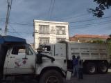 Protestan transportistas y automovilistas en Cardel